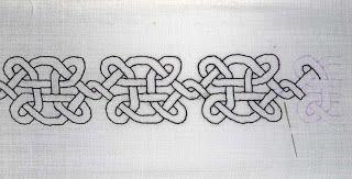 Средневековые Искусство и ремесла: Изготовление Blackwork рубашку для Vyncent