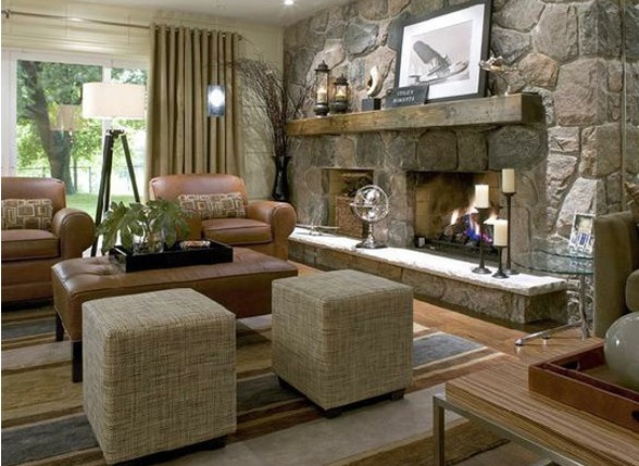 16 best Ideas for the Perfect Choice of Stone Indoor Fireplace