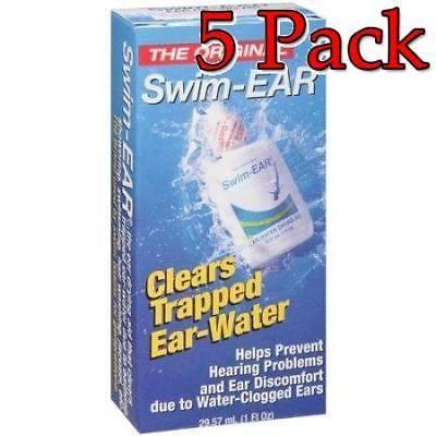 Ear Drops: The Original Swim-Ear Ear Drops, 1Oz, 5 Pack 301680126913A275 -> BUY IT NOW ONLY: $31.99 on eBay!