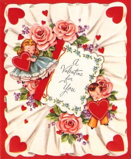 123 best images about Vintage valentine Cards Arts Crafts on – 123 Valentine Cards