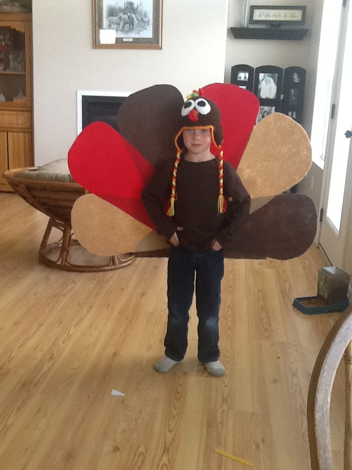 Turkey costume. Facebook - www.facebook.com/outdoorcampus Our website www.outdoorcampus.org/