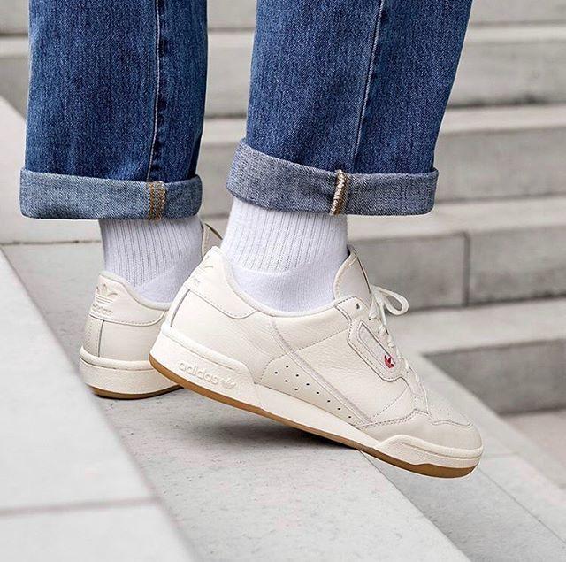 adidas Originals Continental 80 /// Off White / Gum #adidas ...