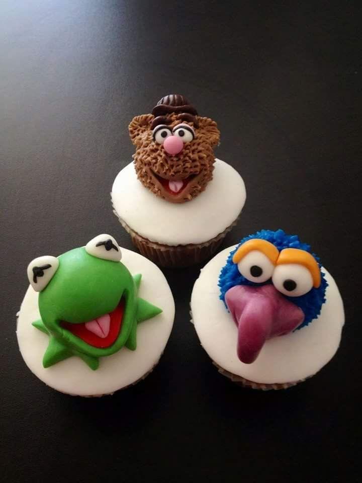 CupCake Muppets! dall'orso Fozzie, alla maialina Miss Piggy, dal mostriciattolo Gozo alla rana Kermit, tutte le creazioni di Jim Henson in versione zuccherina per Veronica Amati Party Designer!