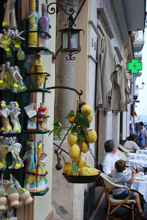 """Lemon"" souvenir shop, Amalfi , Italy"