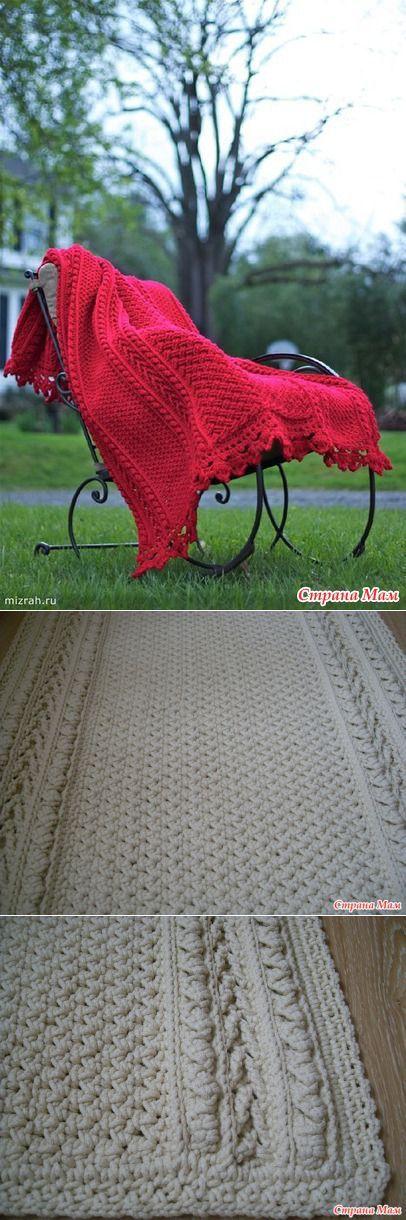 Ковровая дорожка из шнура - Вязание - Страна Мам