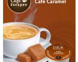 Cafe Escapes Caramel Medium Roast K Cups 24ct