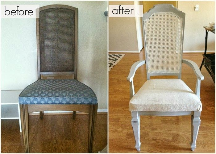 How To Reupholster A Chair Anniesloan Paris Grey Chalkpaint With Cane Back
