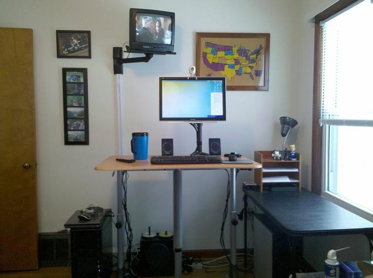 Standup Desk Station Idea