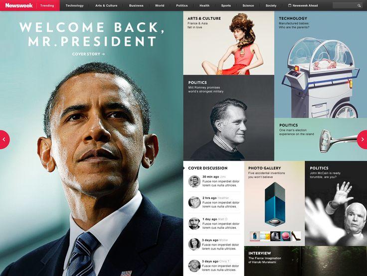 Newsweek on Behance