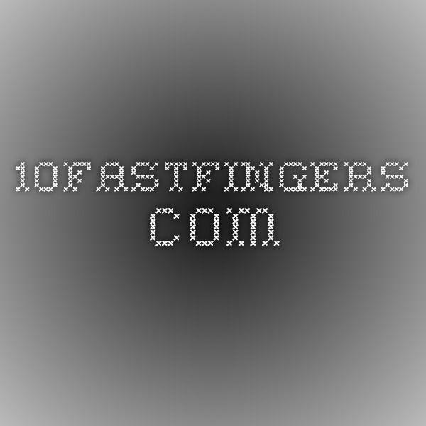 10fastfingers.com