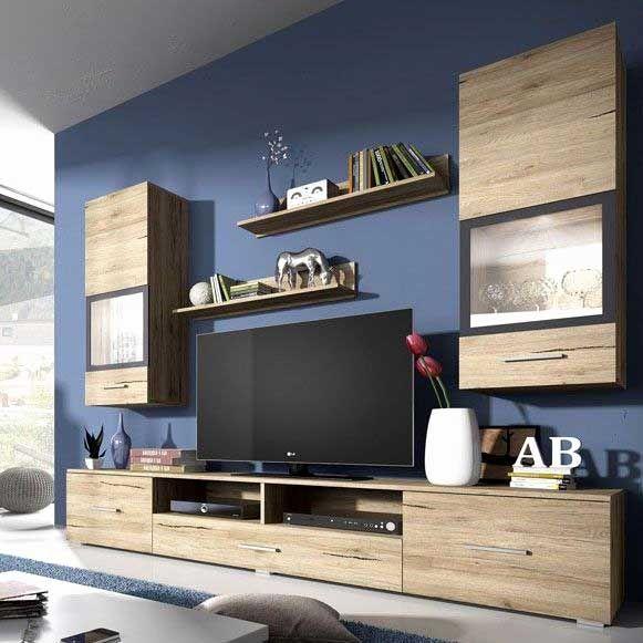 meuble tv mural pas cher luxe mur tele