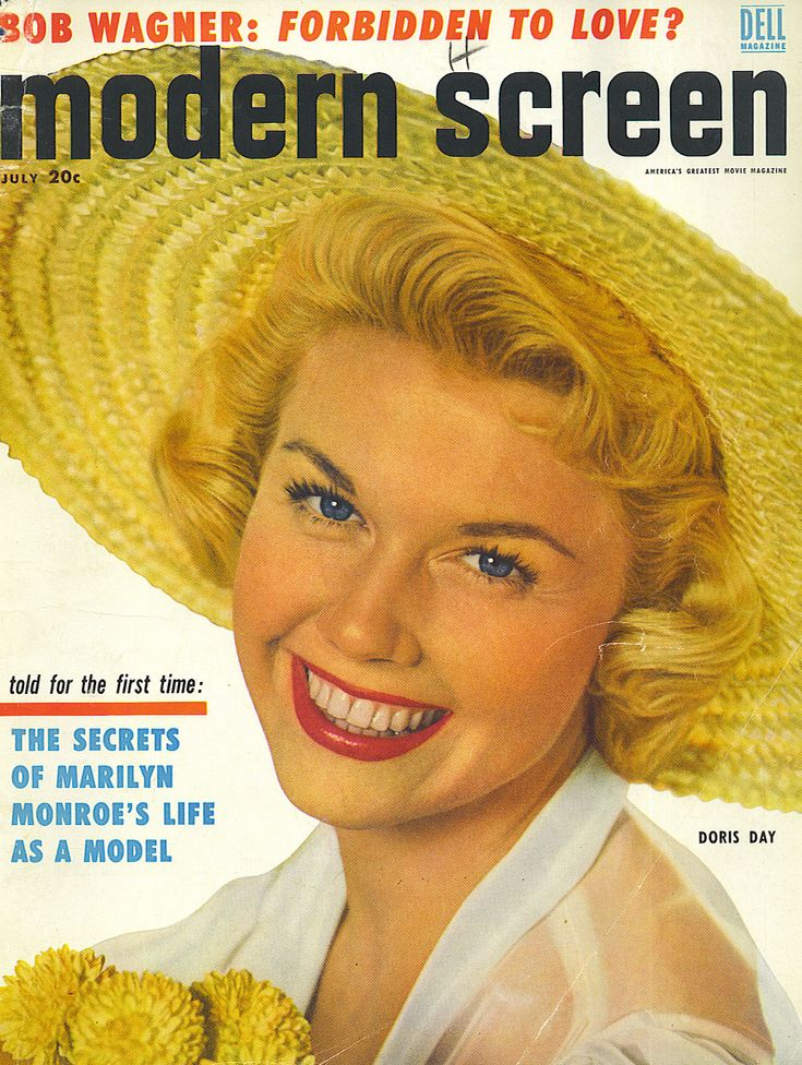 Doris-Day, Modern Screen mag!.