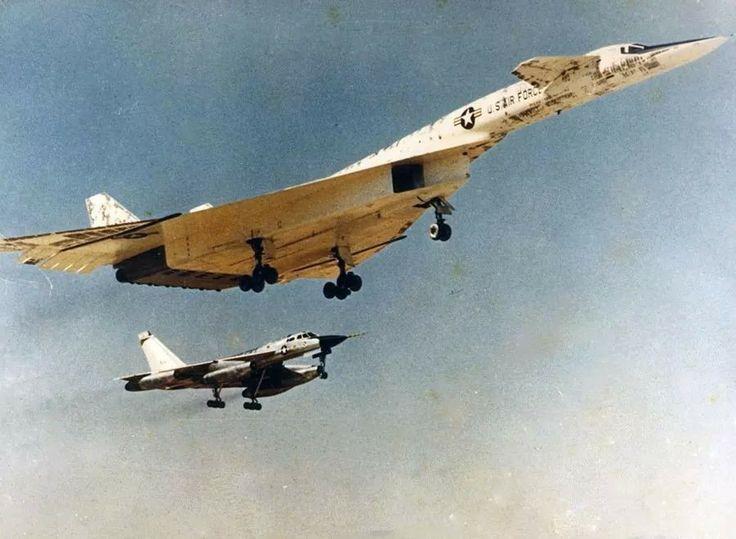 XB-70 Valkerie and B58 Hustler
