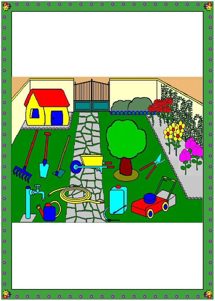Recursos educativos: Juego para trabajar la casa y las habitaciones Os dejamos estas fichas para trabajar los elementos que encontramos