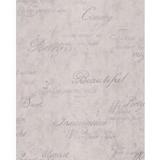Concrete Script Gray/Silver Wallpaper