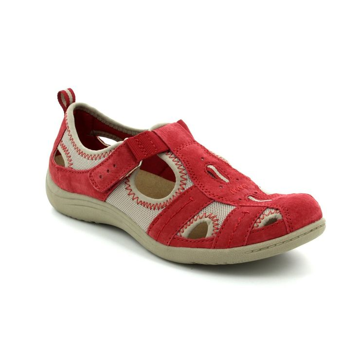 24008/80 MADISON from Earth Spirit. Womens Sandals in red NEW IN for summer fashion this season. Available in store and online at www.beggshoes.com