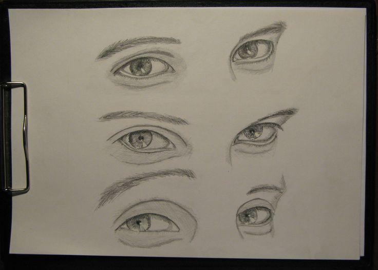 #drawing #pensil #eyes #emotions