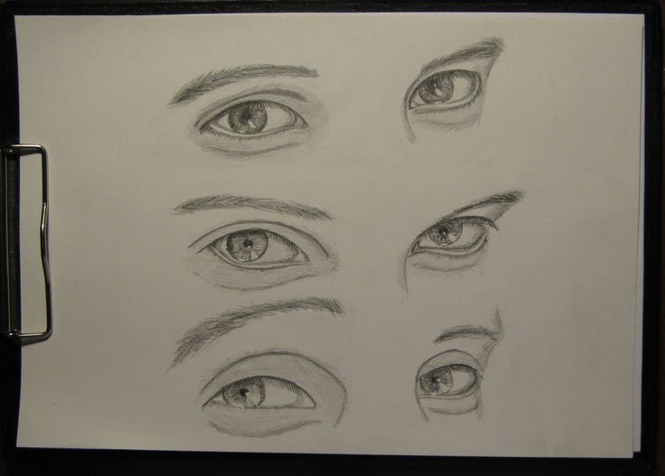 #drawing #pensil #eyes #emotions
