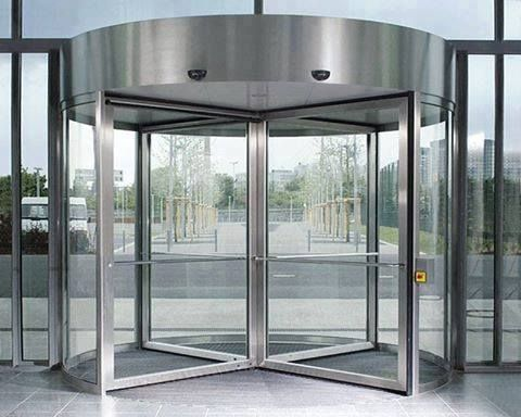 Revolving doors should be maintained and serviced every 6-months due to weather and everyday use. Once for weather stripping and once for complete breakdown and inspection. Additionally, in the event of a fire, the leaves of revolving doors break away, and someone who knows how a revolving door works in the event of a fire should always be available. Therefore, Synergy will train anyone how to operate a revolving door under those circumstances. Synergy also installs new revolving doors…