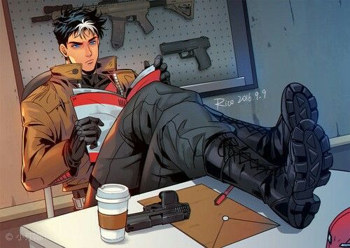 Jason Todd by RedRico from http://redrico.lofter.com                                                                                                                                                                                 Más