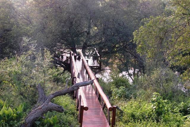 Bridge with Outlook over the Olifants River in Grietje