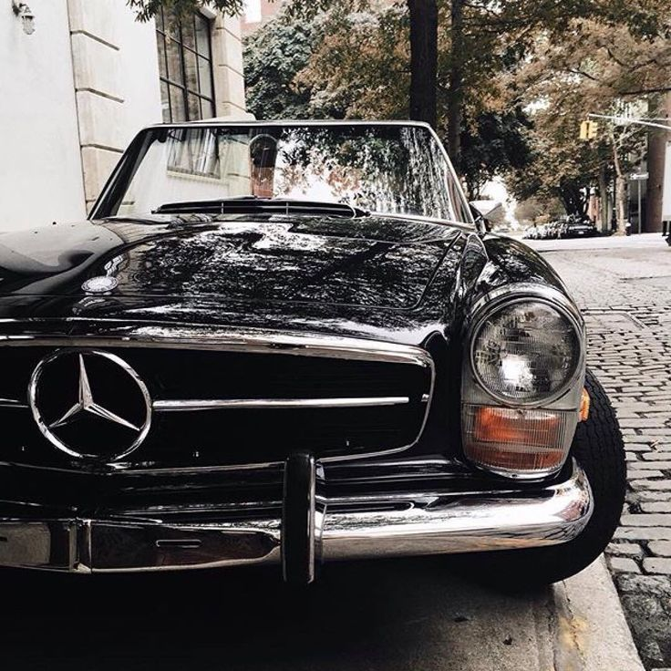 560 SL. i love modern technology but this is my favorite car.