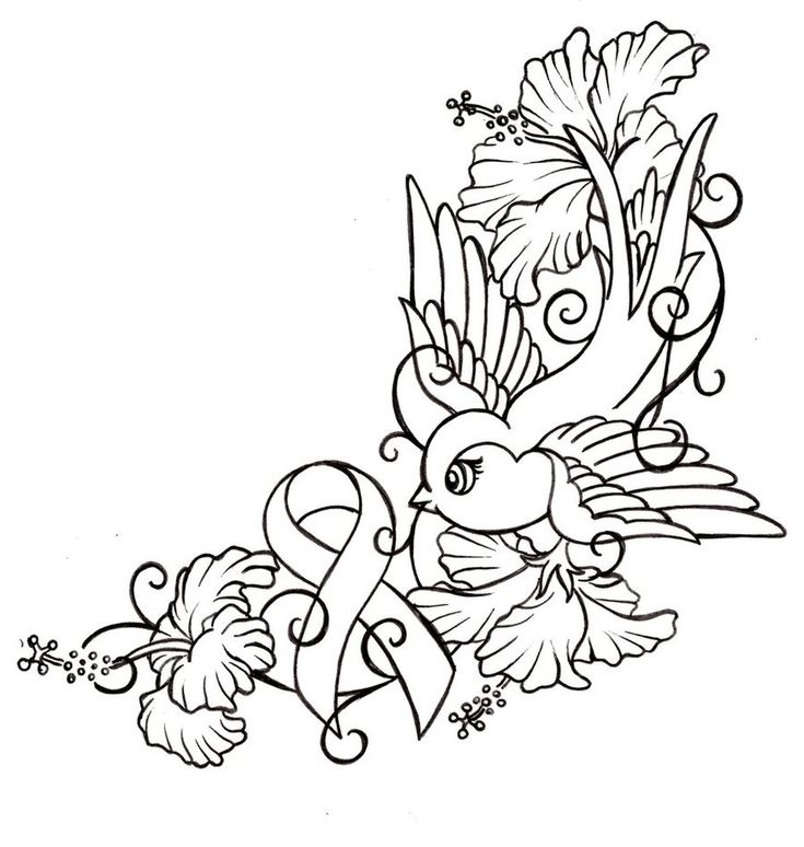 coloring pages of lung cancer - photo#3