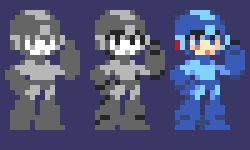 Sprite Practice - Mega Man by YoHeyWhaddup on DeviantArt