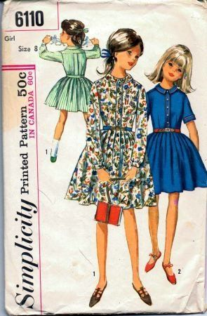 The 100 best Vintage Sewing Patterns Girls 1960\'s & 1970\'s images on ...