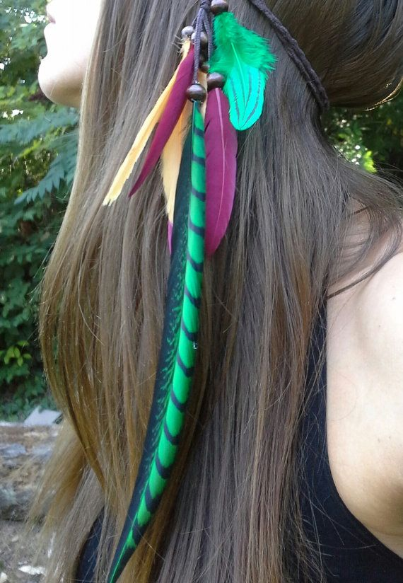 Hey, I found this really awesome Etsy listing at https://www.etsy.com/listing/202351653/rasta-feather-headband-rastafarian