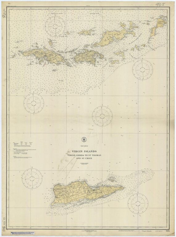 88 best vintage maps of the virgin islands images on pinterest us virgin islands map usvi bvi 1921 publicscrutiny Gallery
