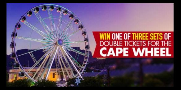 Do you want to experience an aerial view of Cape Town from The Cape Wheel at the V&A Waterfront?   Enter our competition: https://apps.agorapulse.com/app/go/56377/61680  https://www.facebook.com/CapeTownMagazine