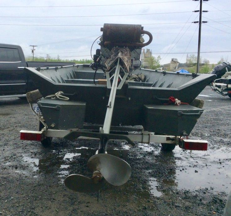 Motors Boat Surface Drive