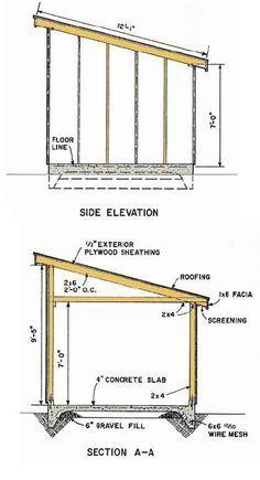 Shed Plans Blueprints 10x12