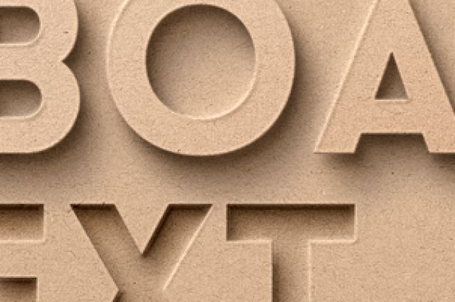This is a paper cardboard psd photoshop text effect with a letterpress and beveled style. Easily add your text or shape...