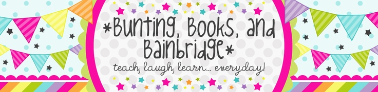 *Bunting, Books, and Bainbridge*: Daily Five - this is by far one of the most helpful and informative blogs on doing Daily Five and Guided Reading. I want to be her best friend :)