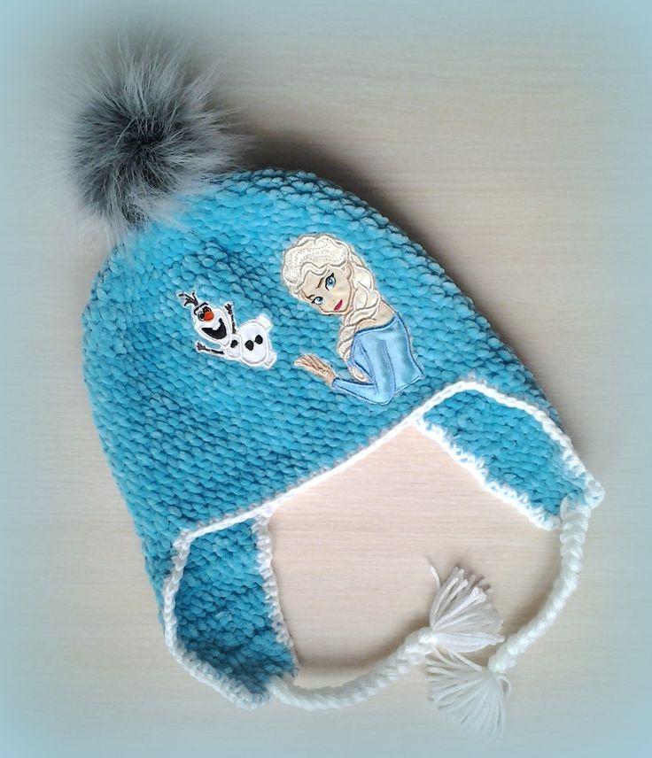 crochet frozen hat