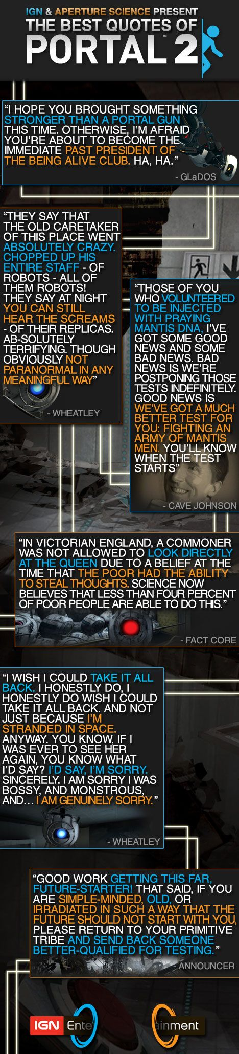 the best of portal 2 quotes