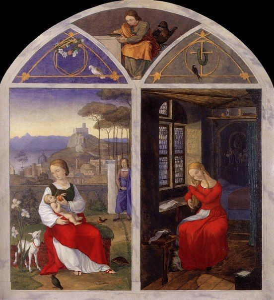 Franz Pforr, Maria und Sulamith, 1811