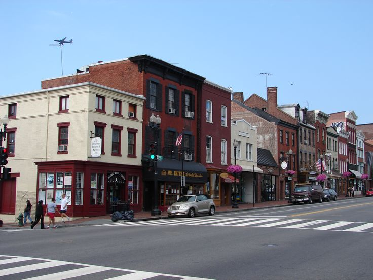 Georgetown...fun college town.