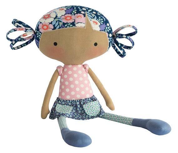 Tilda BIRD POND Quilt Material | Tilda Hen Pond Rag Doll Buddy Stitching Equipment | Tilda Doll Equipment | 19″ Tal