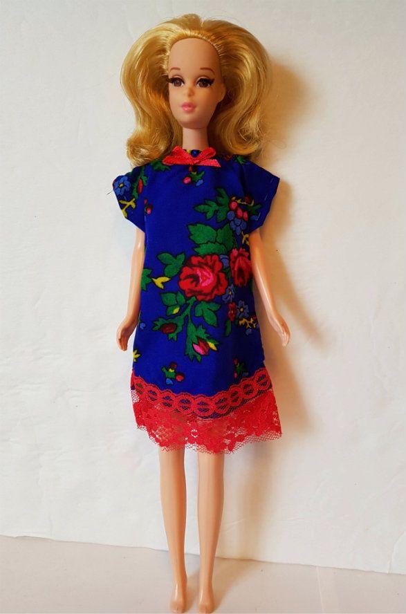 FRANCIE DOLL CLOTHES Dress Nightie Pajamas PJs Red Roses Fashion NO DOLL d4e #DOLLS4EMMAOriginalDesigns #ClothingAccessories