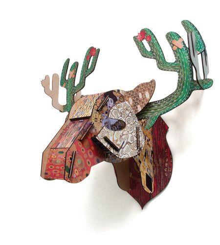 Cabeça Alce Americano - StickDecor | Decoração Criativa