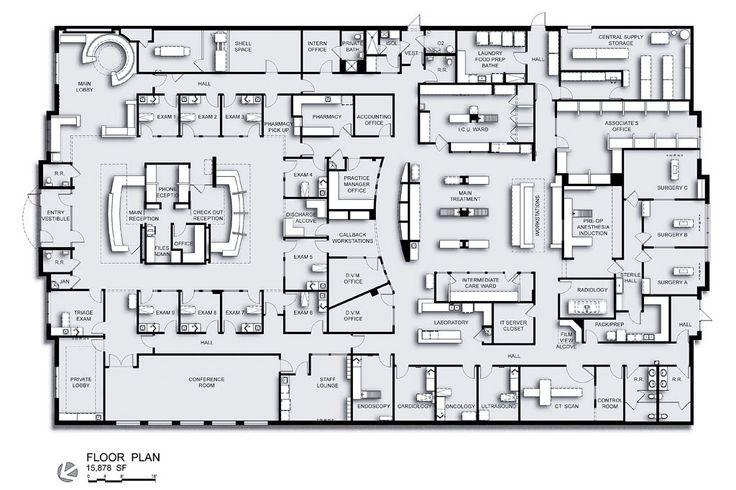 Charleston veterinary referral center in charleston s c for Charleston floor plan