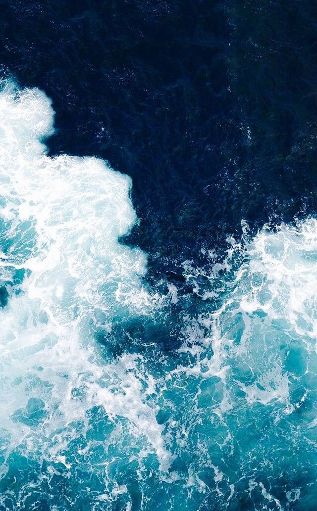 List of Cool Blue Wallpaper for iPhone 2019 Ocean