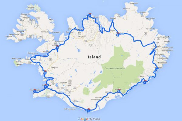 Island-Reiseroute-1