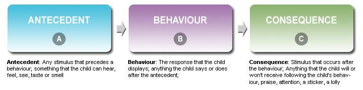 antecedent behavior consequence relationship