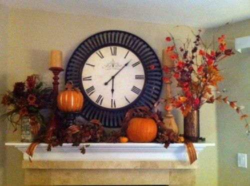 vintage fall decorating ideas | 63 Exciting Fall Mantel Décor Ideas | Shelterness
