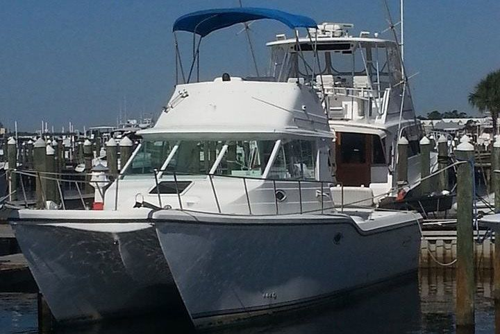 Rogue Wave deep sea fishing charter boat