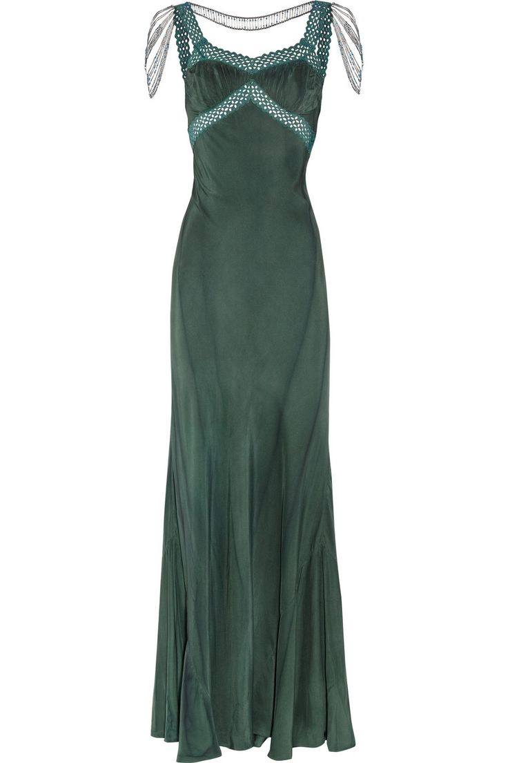 ERICKSON BEAMON Embellished silk gown $1,569.75 http://www.theoutnet.com/products/358218